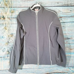 Danskin Lightweight Gray Jacket Size Large